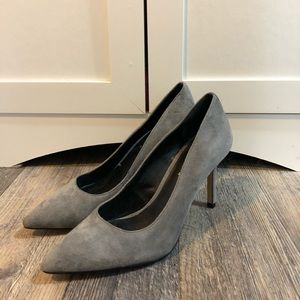 Lord & Taylor Suede Pumps